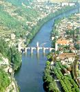 The curve of the river at Cahors